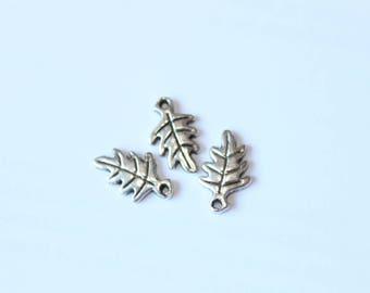 20 * 13 mm, set of 3 leaf charm