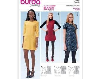 Pattern N 6721 Burda style: dress