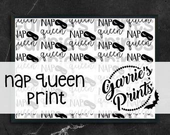 Printable   Nap Queen Prints  