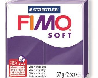 Fimo Soft 57 g - plum N 63 - Ref 68020063