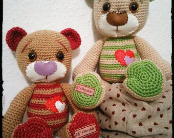 Stuffed plush teddy bear Valentine's day