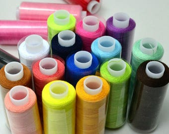 24 color spool of Fils à Coudre sewing thread within 15 days