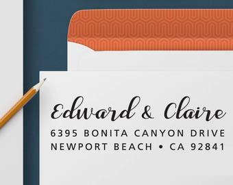 Return Address Stamp 337 - Self Inking Stamp, Custom Address Stamp, Custom Stamp, Personalized Address Stamp, Wedding and Housewarming Gift