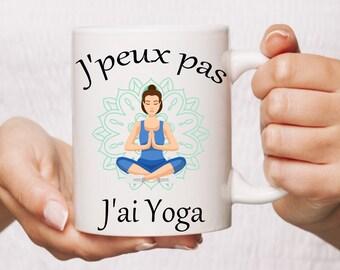 Mug I can't I Yoga