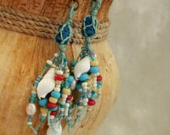 Ceto * ocean amulet - earrings I.