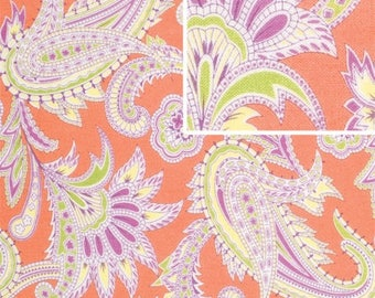 DISCOUNTED Amy Butler Turkish Paisley 1/2 yard Nectarine in Gypsy Caravan Collection