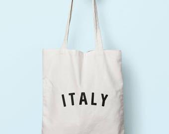 Italy Tote Bag Long Handles TB0704