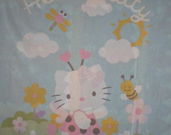 """child Panel quilting """"Hello Kitty"""""""