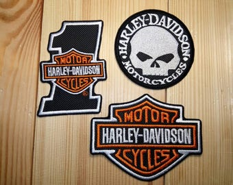 Harley Davidson® patches set. 3 psc.
