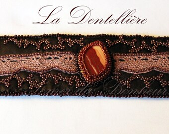 """The Lacemaker"" embroidered cuff"