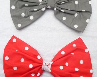"""Big bow look Pin Up """"dots"""""""