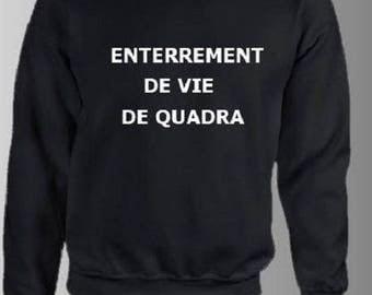 """Sweatshirt for men, printed """"QUADRA STAG"""""""