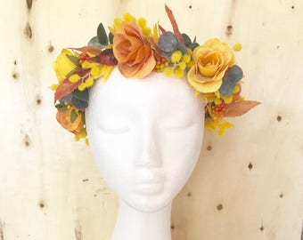 """The """"Thelma"""" Flower Crown"""