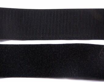 Scratch black by 10 cm Velcro