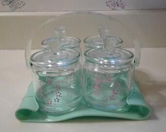 Vintage Baby Nursery Accessories Set