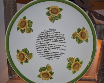 Pavlova Ironstone Australian Platter/ Japanese Ironstone/ Ceramic Platters/ Vintage Ironstone/ Vintage Platters/ Ironstone from Japan