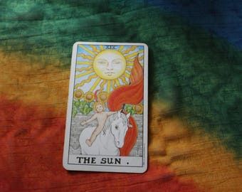 Box Kit- The Sun-improve lifestyle/achieve material security/tarot cards