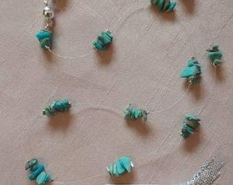 A touch of Turquoise Magnetic Necklace