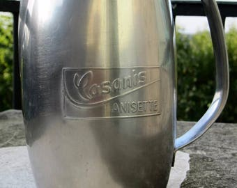 Former pitcher bistro Casanis Anisette stainless