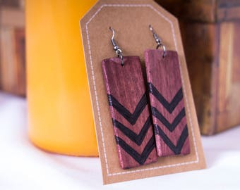 Arrow Pattern Earrings