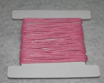 Thread cotton, 5 m x 1 mm Rose