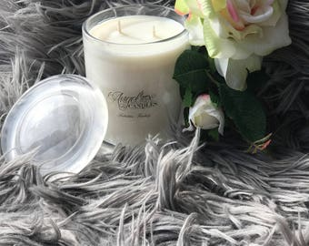 AngelRox Candles - 350 grams 60+ hour burn time - Home made Soy Candles all Australian products used
