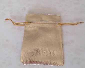 set of 5 satin bag