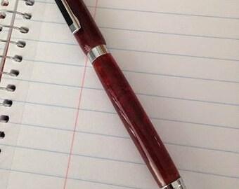 Turned slimline pen