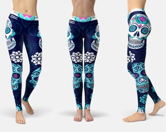 Hippie Habits - leggings, womens yoga pants, womens yoga leggings, yoga pants women, fitness, dance, activewear