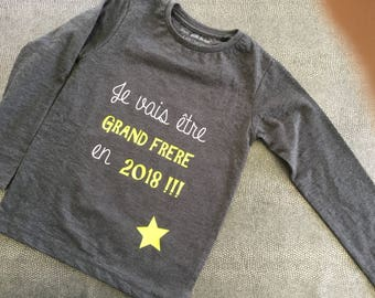 Future big brother pregnancy announcement boy t-shirt