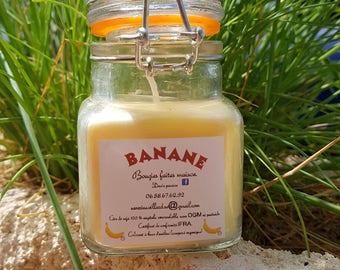 Organic 100% soy wax candle