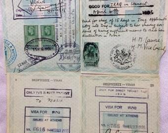 Vintage British Revenue Stamps