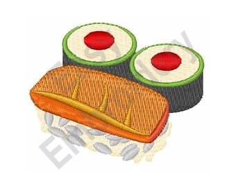 Sushi - Machine Embroidery Design