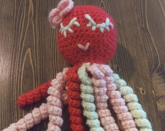 Stuffed Crochet Octopus