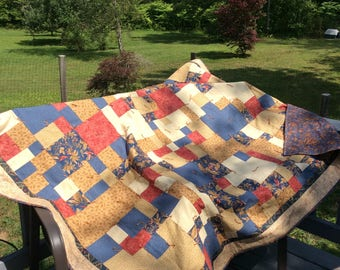 Quilt, hand tied