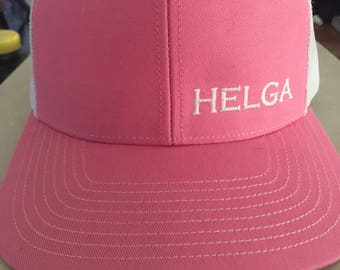 Helga Pink Cap, Lift Heavy Go Fast! Are you Helga Strong?