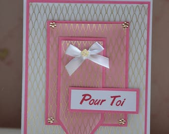 Pink all occasion, birthday, party, congratulations card
