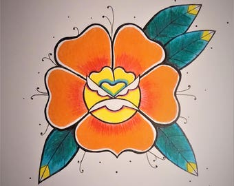 Traditonal Rose