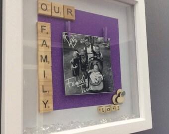 Our family deep box frame
