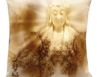 """The Zen Collection-18"""" Throw Pillow"""
