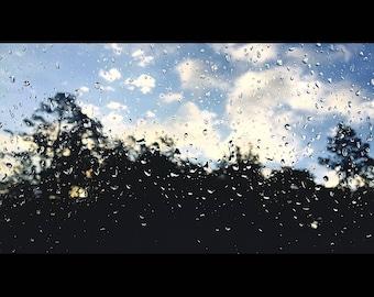 Rainy days with sunny skies