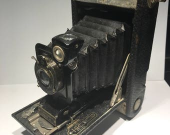 Kodak 120 brownie autographic   For parts or display