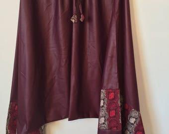 African print 100% cotton harem pants!