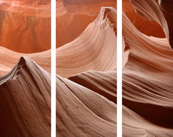 Multi-Panel Canvas Print of Antelope Canyon 1