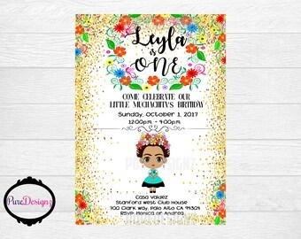 Frida Kahlo Invitation, Invitaciones Frida, Frida Invitation, Invitaciones Frida Kahlo