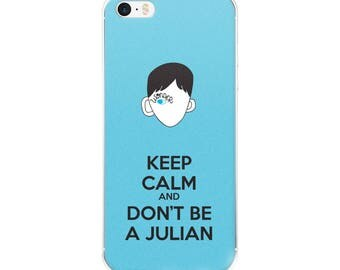 Keep Calm Choose Kind Wonder RJ Palacio anti bullying kindness positive message acceptance  friendship motivation iPhone Case All Sizes