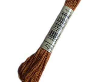 FLOSS 434 special DMC 434 Brown cigar - embroidery FLOSS dmc Mouliné 434 - skein of thread dmc mouline 434