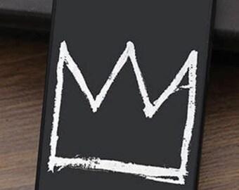 Iphone case Basquiat Crown