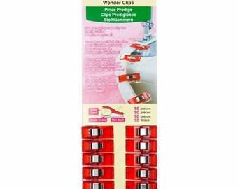 Clover wonder red building clip