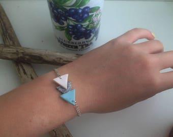 Arrow bracelet blue three colors
